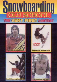 Snowboarding Old School: The Very First Contest