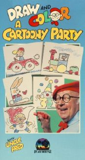 Draw and Color a Cartoony Party with Uncle Fred