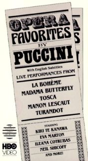Opera Favorites by Puccini