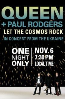 Queen + Paul Rodgers: Let the Cosmos Rock