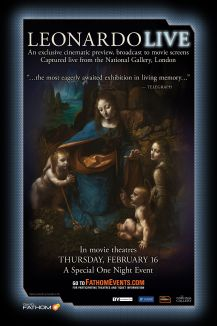 The National Gallery: Leonardo Live