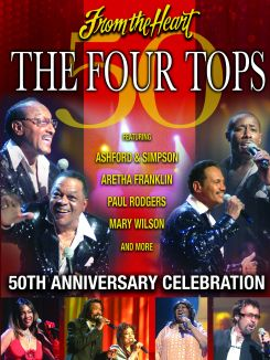 Four Tops 50th Anniversary & Celebration
