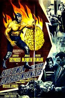 Blue Demon contra Cerebros Infernales
