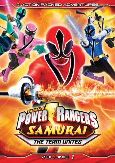 Power Rangers Samurai: The Team Unites Vol. 1