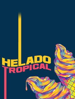 Helado tropical